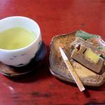 いろり庵 - お茶と和菓子