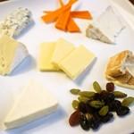 チーズの盛合せ 7種