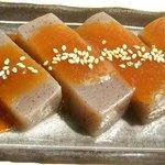 おみやげ・お食事処 神田家 - 『自家製ゆず味噌おでん』 テレビでも紹介された、自家製のゆずの香り豊かな田楽