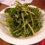 炭火ホルモン焼肉ばりき屋 - パクチーサラダ450円