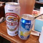 肉のオカヤマ直売所 - 缶ビール・缶チューハイ