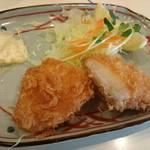 62311850 - 白身魚フライ。