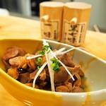 江戸前鮨と鶏 和暖 - 鶏もつ煮