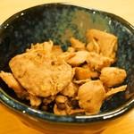 江戸前鮨と鶏 和暖 - マグロの山椒煮