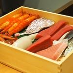 江戸前鮨と鶏 和暖 - ネタ箱