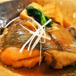 江戸前鮨と鶏 和暖 - 赤鰈 煮付け