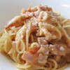 レストランティーズ - 料理写真:フレッシュトマトとベーコンのアーリオ・オーリオ