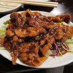 太古城 - 黒酢の豚チリ