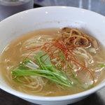 麺や 青雲志 - 塩らぁめん 680円