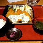 喰人 - アジフライ定食