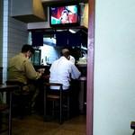 新長亭 - お店の奥にカウンター席