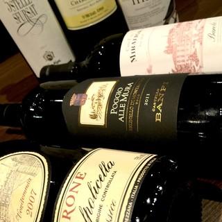 イタリアワインなら当店へ全20州200本のワイン1600円〜
