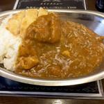 バルチックカレー - 若鶏カレー600円+チキンかつ150円