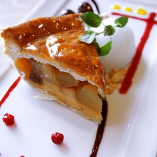 ≪好評≫食後のデザート