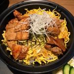 地鶏の鶏膳 - 黒さつま鶏炙り丼