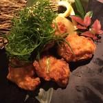 海鮮個室居酒屋 魚将 - 若鶏の葱塩唐揚げ