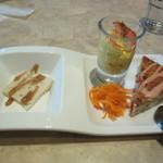 シュタインハウス - 前菜3種盛