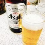 62326946 - 瓶ビールでぷはぁ~