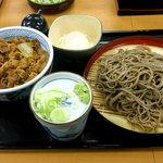 そば処吉野家 - 十割蕎麦・牛丼セット