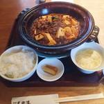 62334062 - 麻婆豆腐ランチ・スタンダード(1200円)