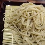 蕎麦おざき - ◆「二八そば」の「もり(800円)」・・蕎麦好きさんが好みだと言っておりました。