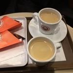 サンマルクカフェ - チョコクロと珈琲