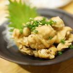 北乃家 - 鶏皮ポン酢