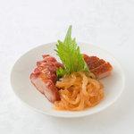 横浜大飯店 - 三種冷菜盛り合せ