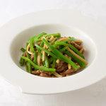 65 青椒牛肉絲[上海]