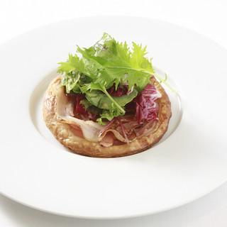 四季を感じるフランス料理