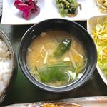 金重 - 味噌汁【料理】
