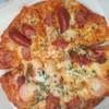 ピザーラ - 料理写真:シーフードイタリアーナ&スパイシーソーセージ