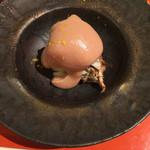 和酒和食の坂 - 毛蟹の酒盗クリームかけ