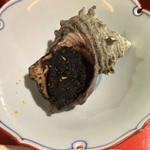 和酒和食の坂 - サザエのイカワタオーブン焼き