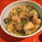 和酒和食の坂 - 薩摩錦鶏の肝入り親子丼