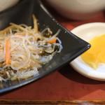 焼串にくらぼ - ランチの小鉢