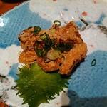 旬魚 ゆるり - 山芋ステーキ明太子風味