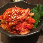 菜々 土古里 - 白菜キムチ 土古里オリジナル ¥450(税抜) オリジナルの製法で作ったこだわりのキムチ。 ・ 2017/02/07(火)19:00頃来訪