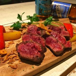 独自製法⭐︎熟成肉ステーキ⭐︎