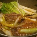 海鮮料理 鶴丸 - 隠岐牛のすき焼き