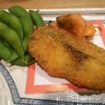 海鮮料理 鶴丸 - 魚フライ