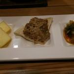 海鮮料理 鶴丸 - 3種盛り