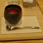 東京茶寮 - ほうじ茶のブラマンジェ