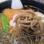 麺処 山百合 - そばアップ