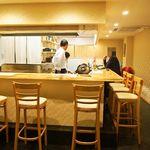 江戸前鮨と鶏 和暖 - 店内(カウンター席)