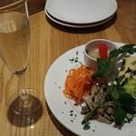 イルリトローボ - 前菜と泡