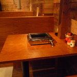 やきにく宵緒 - ☆テーブル席はこちらですぅー☆