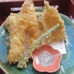 四季彩 - 天婦羅御膳の天ぷら