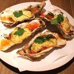 オーガニカ - カキと野菜のタルタルオーブン焼き1000円