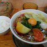 中華そば de 小松 - 現在の昼営業限定カレーあんかけ中華そば。